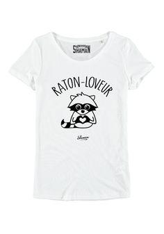 "Tee shirt ""Raton loveur"""