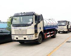 fresh water transport tanker truck