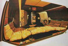 Syd Mead! Playboy land yacht design 1975