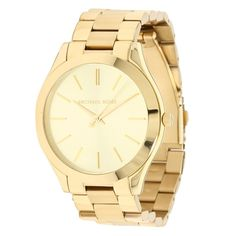 Gold watches for women Michael Kors