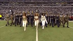 The United States of Beyoncé suckonmynick:  The fact that Beyoncé knows Michelle is too far over and corrects the line up while strutting her ass off just makes her everything. LOL  how do u know michelle is too far and kelly isnt too close?