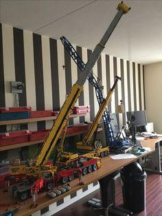 Lego Robot, Lego Moc, Robots, Lego Crane, Lego Machines, Lego Truck, Lego Ship, Lego Construction, Lego Worlds