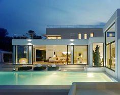Casa Jondal 4 Ibiza Dream Residence Combining Spanish Architecture and Modern Design
