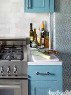 #Kitchen of the Month, July 2013. Design: Sheila Bridges. Kitchen Tiles.