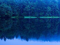blue morning #Mishagaike #Nagano #Japan