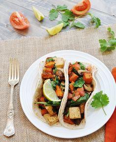 Sweet Potato and Tofu Breakfast Tacos - Veganosity