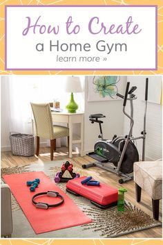 exercise room / office  dream home  pinterest  exercise
