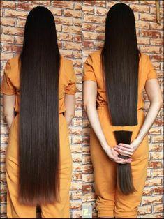 Long Hair Trim, Long Black Hair, Long Hair Cuts, Long Hair Styles, Indian Hairstyles, Down Hairstyles, Straight Hairstyles, Rapunzel Hair, Beautiful Long Hair