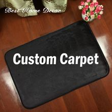 US $18.00 Custom Logo Brand Your Text Photo Carpet Rug Customized Flannel Indoor Outdoor Floor Mat Carpet Two Size Home Decorate. Aliexpress product