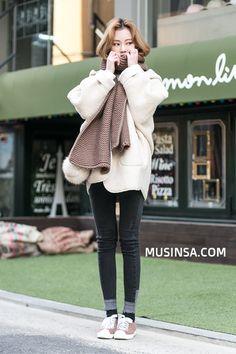 #MUSINSA street #style #winter2015