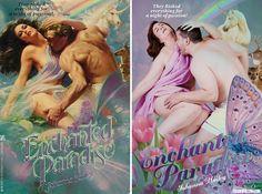 Des gens normaux parodient les couvertures des romans d'amour