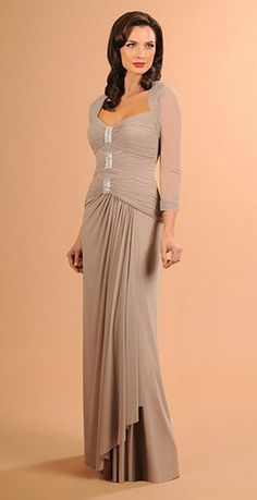Daymor 611 Ruched Mother of the Groom Dress image