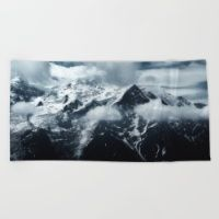Mont Blanc collection Beach Towel
