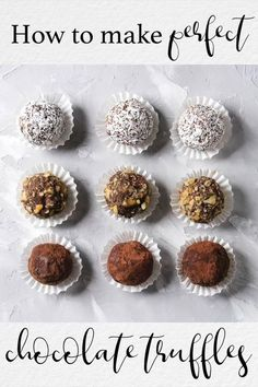 An easy chocolate truffle recipe that's smooth and silky, just like truffles should be. Roll them in chopped coconut, pecans or simple cocoa. Get colorful with candy sprinkles! Learn how to make them and give them away as gorgeous, delicious, heartfelt homemade gifts.   #chocolatetruffles #chocolatetrufflesrecipe #thewickednoodle