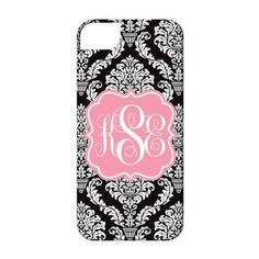 Personalized Cell Phone Case-Damask. #cellphonecase #phonecover  9thelm.com