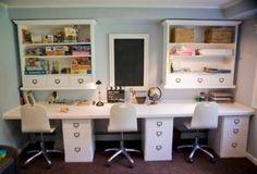 Image result for homeschool dual desk for girls