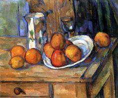 Avec une pomme, je veux étonner Paris! (Cézanne, Pommes sur une table, 1900)