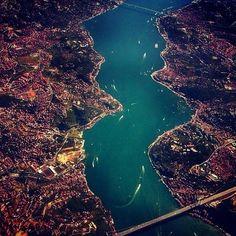 Havadan sudan İstanbul
