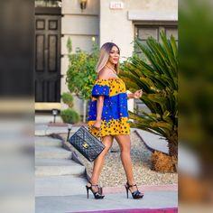 Ankara dress/ Top; African print