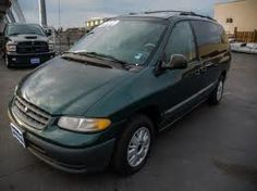 1997 Plymouth Voyager SE - I had a '98 (close enough - looked just like this!)