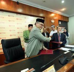 Majlis Menandatangani MoA antara UTM dan ATSA Architects Sdn. Bhd.