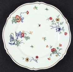 SHALIMAR - by Haviland  Description: France, Louis XV, multicolored flowers