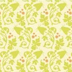 Jules Davis - Garden of Delights - Moth Flower in Olive