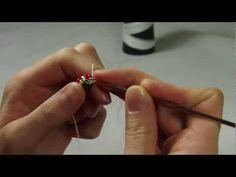 Sznur koralikowy na szydełku - tutorial
