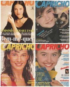 Revista capricho 80s