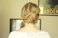 Braid bun by The Paper Mama, via Flickr
