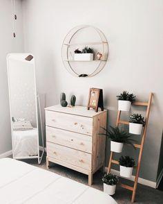 Ideas For Bedroom Corner Bedroomideas Mirror Plants
