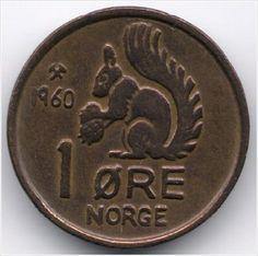 Norway 1 Ore 1960 Veiling in de Noorwegen,Europa (niet of voor €),Munten,Munten & Banknota's Categorie op eBid België