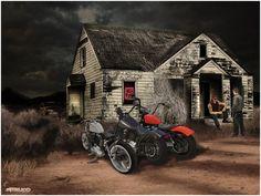''Outlaw Biker Bar''