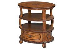 Colin Lamp Table, Maple on OneKingsLane.com
