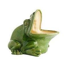 One of my faves.  Frog planter from Pier1