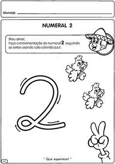 Atividades para Educação Infantil: Numerais de 1 a 5 - ESPAÇO EDUCAR
