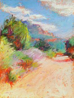 """Southwest Landscape, Card  Folded Notecard """"Sedona Trail"""" by Bethany Bryant on Etsy, $4.95"""