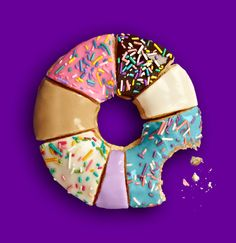 I don't eat donuts but lol! Pastel Cupcakes, Cute Food, Funny Food, Food Design, Design Art, Food For Thought, Food Styling, Food Art, Sprinkles