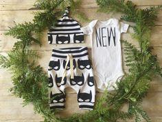 Newborn Boy Take Home Outfit / Newborn Boy Coming Home Outfit / Newborn Superhero Mask Outfit // Mask Clothing Set // Preemie Clothes Boy //