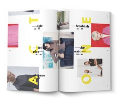 SIMPLY THE MAG ISSUE#2 by PABLO ABAD, via Behance