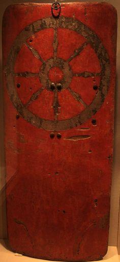 Large 15th C. pavise, Metropolitan Museum of Art