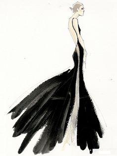 Donna Karan @dkny pr girl featured on @Bergdorf Goodman's 5th/58th Blog!