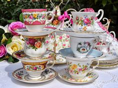 Children's Tea Set by cake-stand-heaven
