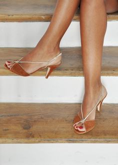 Honey and gold sandals