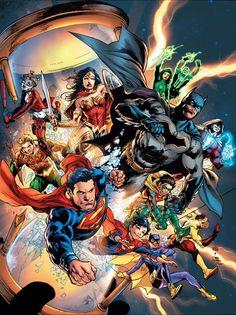"""#DC #Universe #Fan #Art. (DC Universe: Rebirth. """"Lost"""" Vol.1 #1 Variant Cover) By: Gary Frank Brad Anderson. (THE * 5 * STÅR * ÅWARD * OF: * AW YEAH, IT'S MAJOR ÅWESOMENESS!!!™)[THANK Ü 4 PINNING!!!<·><]<©>ÅÅÅ+(OB4E)"""
