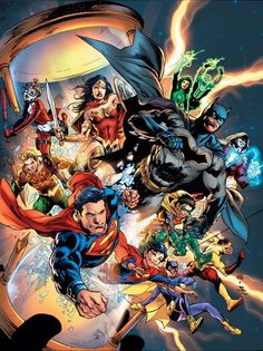 "#DC #Universe #Fan #Art. (DC Universe: Rebirth. ""Lost"" Vol.1 #1 Variant Cover) By: Gary Frank Brad Anderson. (THE * 5 * STÅR * ÅWARD * OF: * AW YEAH, IT'S MAJOR ÅWESOMENESS!!!™)[THANK Ü 4 PINNING!!!<·><]<©>ÅÅÅ+(OB4E)"