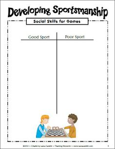 How to teach kids to be good sports - blog post by Laura Candler with teaching tips for using math games in the classroom