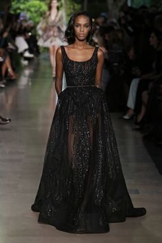 ELIE SAAB Haute Couture Spring Summer 2015. Quite an LBD