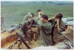 """This combat """"action shot"""" was taken by a New Jersey native who was drafted into the US Army at age 19 and deployed to Vietnam from 1969 to 1970. Description from pinterest.com. I searched for this on bing.com/images"""