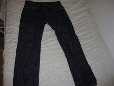 APC Washed New Standard Selvedge Jeans  | Size 30w 28l #APC #ClassicStraightLeg